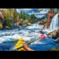 Casse-tête 1000 morceaux - Kayak d'eau vive