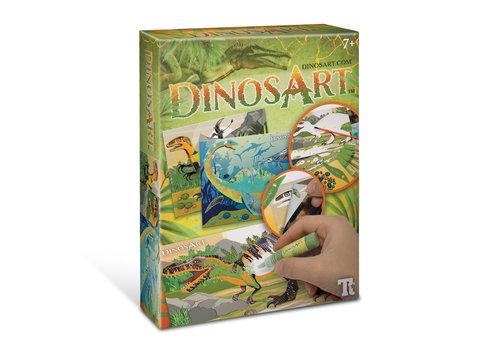 DinosArt DinosArt - Tableaux à texturer