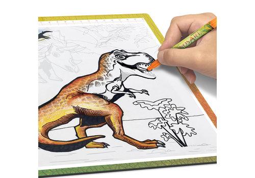 DinosArt DinosArt - Tablette lumineuse de dessin