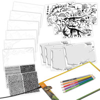 DinosArt - Tablette lumineuse de dessin