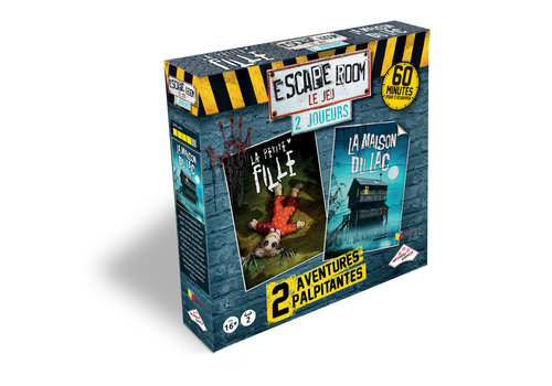 Gladius Escape Room Coffret 2. 2 joueurs (2 scénarios  -Horreur)