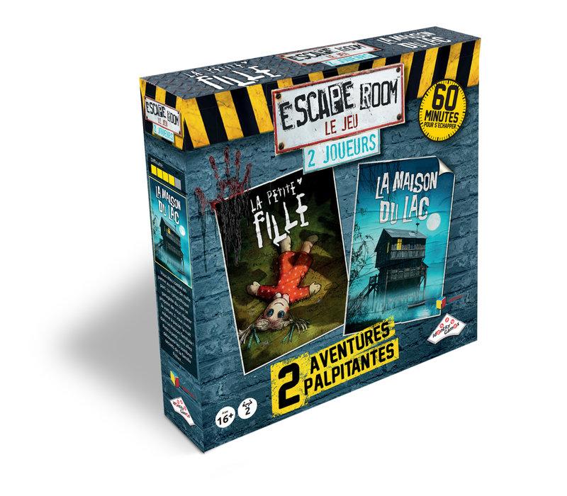 Escape Room Coffret 2. 2 joueurs (2 scénarios  -Horreur)