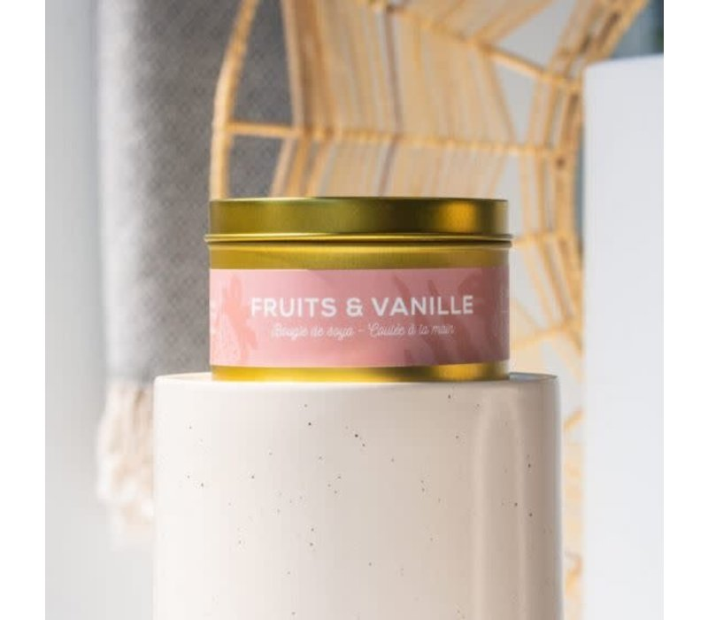 Chandelle 8 oz - Fruits Vanille