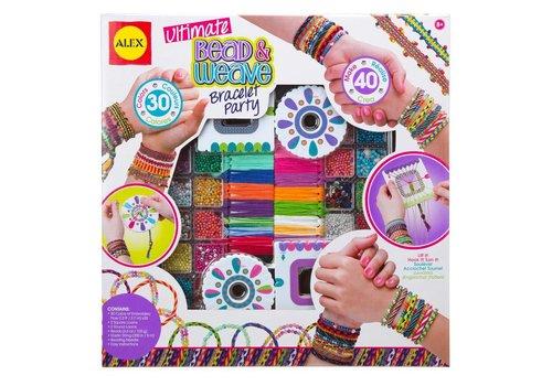 ALEX Toys Ultimate Bead & Weave Bracelet Party