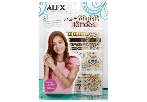 ALEX Spa Fab Foil Tattoos