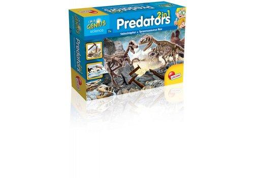 Lisciani (Giochi) I'm a Genius Predators 2 in1