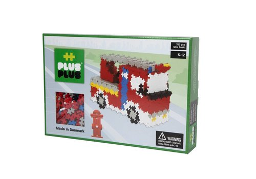 Mini Basic Firetruck - 760 pcs
