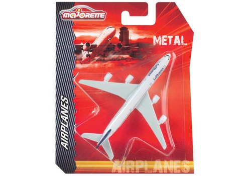 Majorette Airplane license assorted