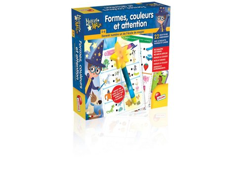 Lisciani (Giochi) Magicien Malin Formes couleurs et attention