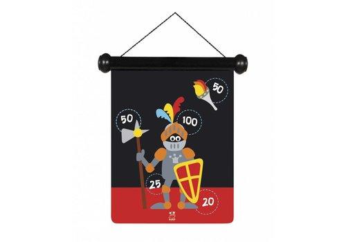 Scratch Scratch - Jeu de dards magnetiques chevalier