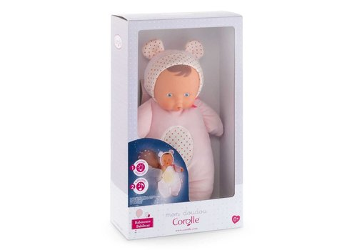 Corolle Babibear Night Light Pink