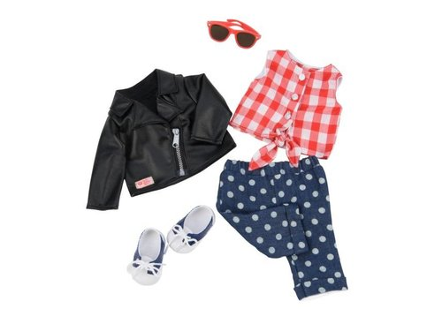 Our generation Deluxe Back to Cool Outfit for 46 cm OG doll