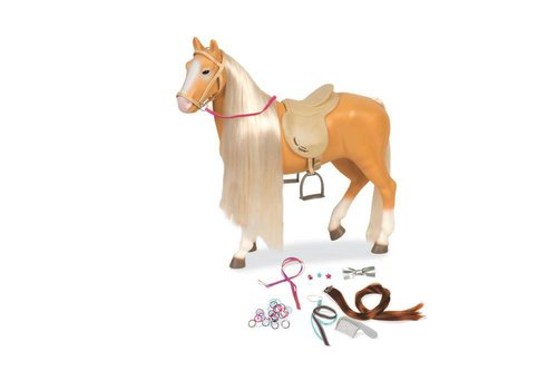Our generation Lusitano hair play horse 20'' for OG