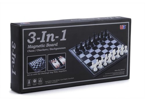 Backgammon / chess / checkers set