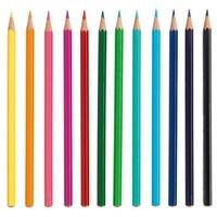 Mini Grafic - 12 coloured pencils