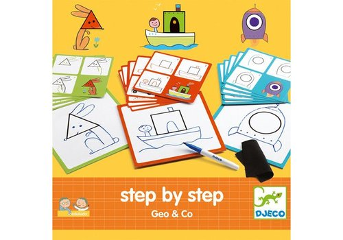 Djeco Step by Step Eduludo / Geo & co