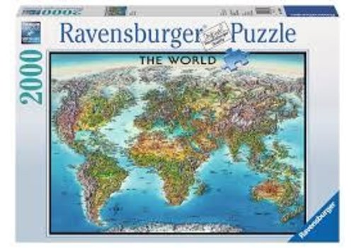 Ravensburger Carte du monde (anglais)