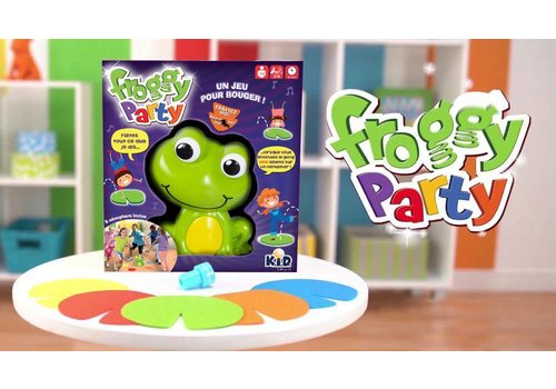 Froggy Party-Le Jeu