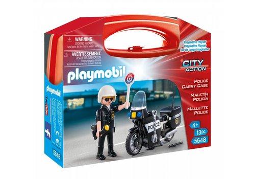 Playmobil Mallette Transportable de Police