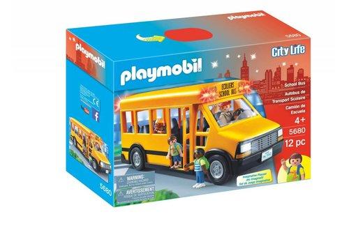 Playmobil Autobus de transport scolaire