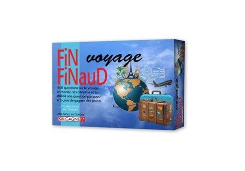 KikiGagne? Fin Finaud : Voyage