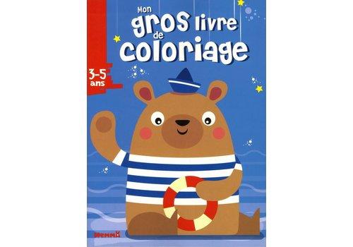 Mon gros livre de coloriage Ours