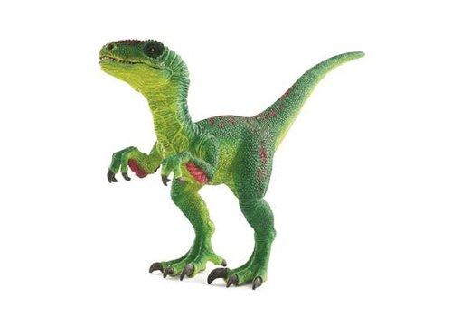 Schleich Velociraptor Vert