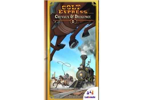 Colt Expresse - Chevaux et diligences