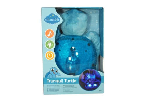 Cloud B Tortue Tranquille - Aqua