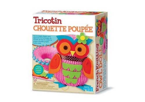Tricotin Chouette poupee