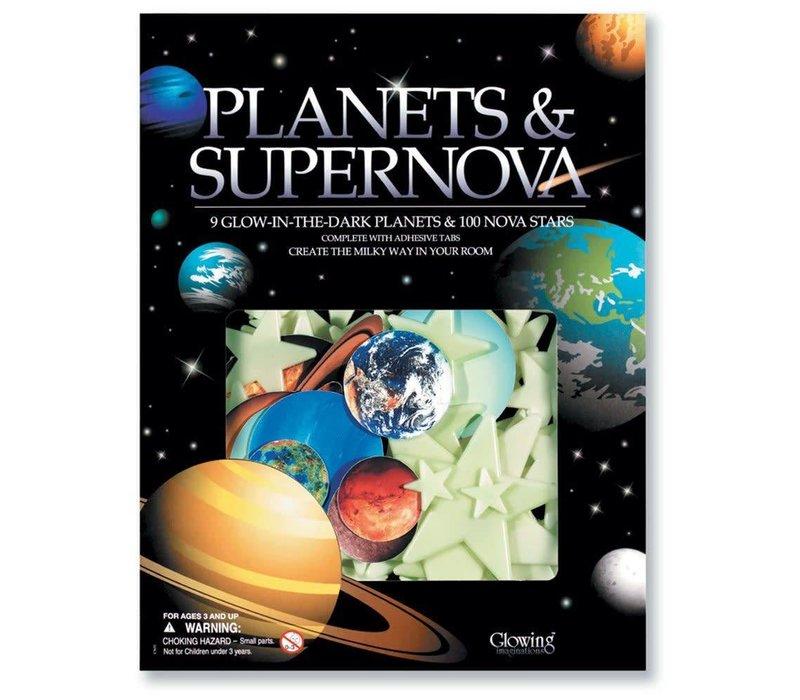 Planets & Supernova