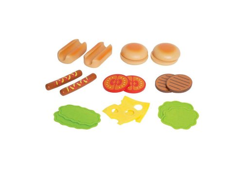 Hape Hamburgers et hot-dogs
