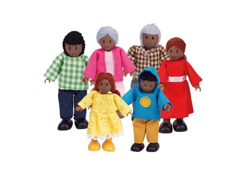 Hape Famille Afro-américaine