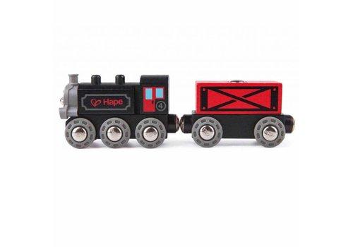 Hape Train de marchandises a vapeur