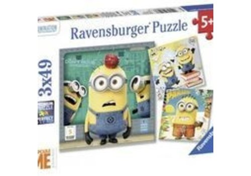 Ravensburger Despicable Me (3 x 49 pc Puzzles)