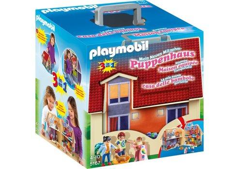Playmobil Maison transportable