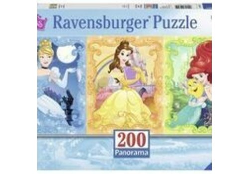 Ravensburger Jolies princesses (200 pc Panorama)