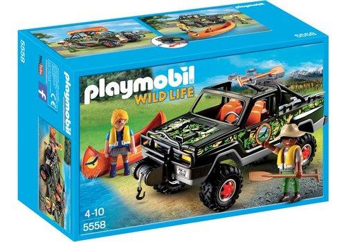 Playmobil Pick-up des aventuriers*