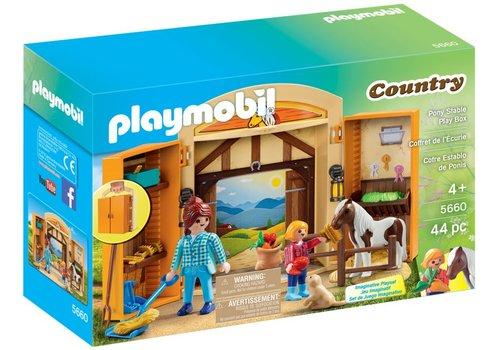 Playmobil Coffret de l'Écurie