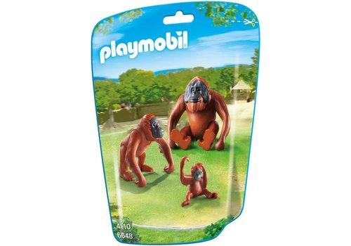 Playmobil Deux orangs-outangs avec bébé