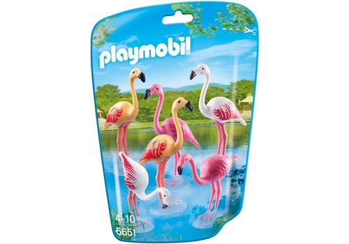 Playmobil Famille de flamants roses