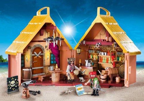Playmobil Taverne de pirates transportable