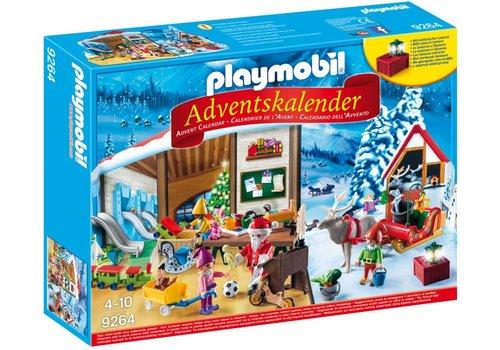 Playmobil Calendrier de l'avent- L'Atelier du Père Noel
