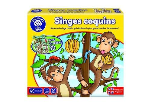 Des singes coquins