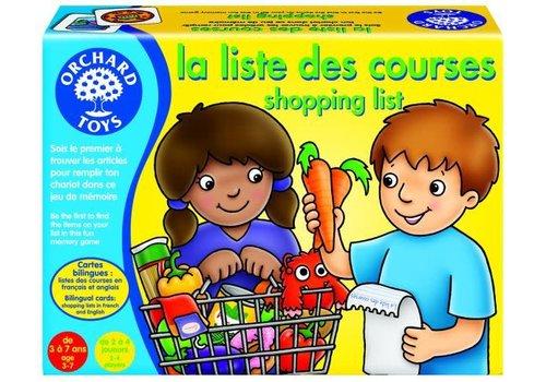 Orchard Toys La liste des courses