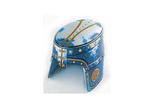 LionTouch Casque de chevalier, Chevalier Noble, bleu