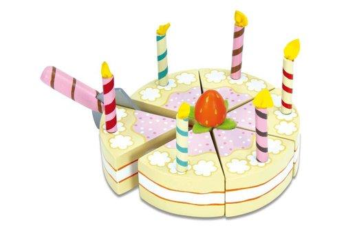 Gâteau de Fête vanille / Vanilla Birthday Cake