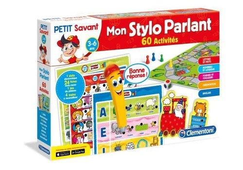 Clementoni Petit Savant : Mon Stylo Parlant, 60 activites