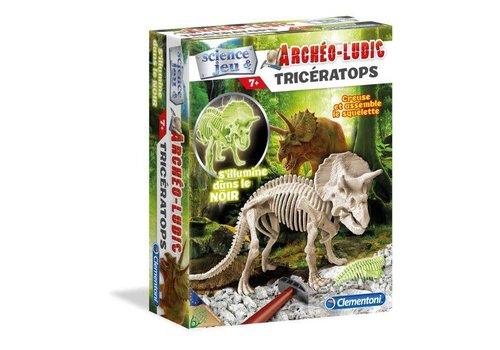 Clementoni Acheo Ludic Triceratops Fluo