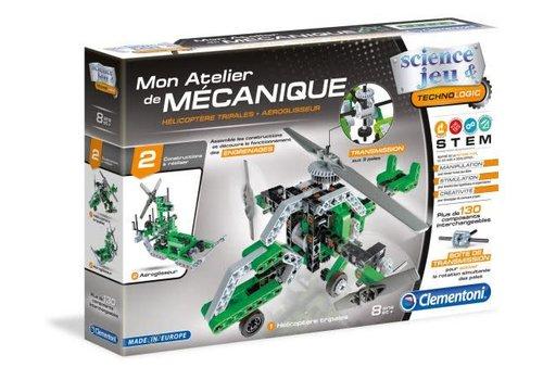 Clementoni Mon atelier de mecanique : Helico & Aeroglisseur